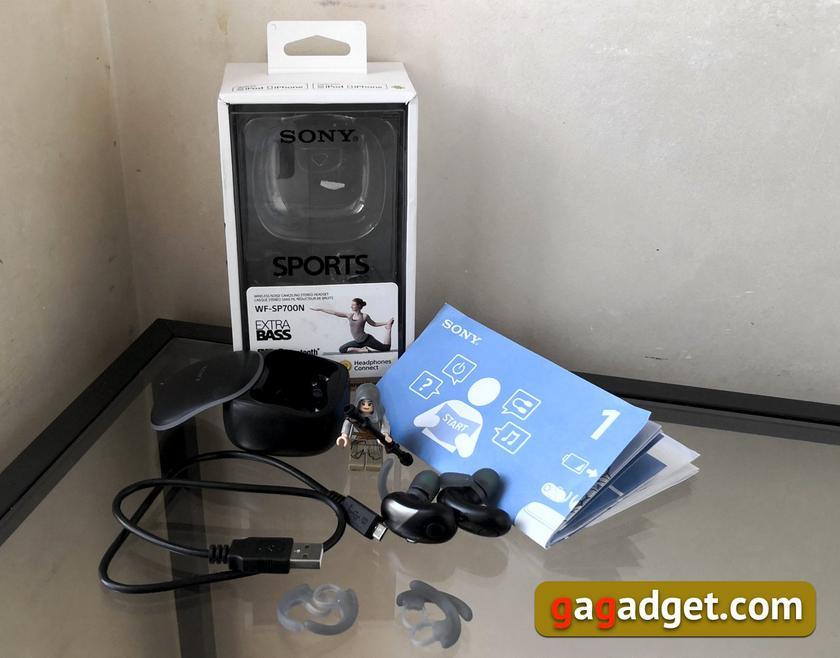 Обзор Sony WF-SP700N: моллюски для ушных раковин-4
