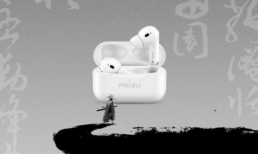Meizu Pop Pro: TWS-наушники c ANC и дизайном, как у AirPods Pro за $77