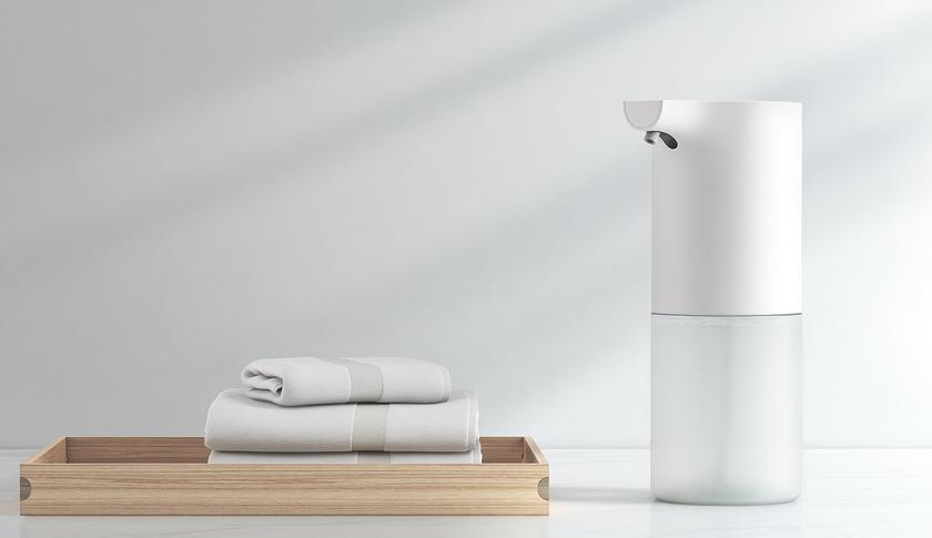 Автоматический дозатор мыла Xiaomi взбивает пенку и стоит недорого