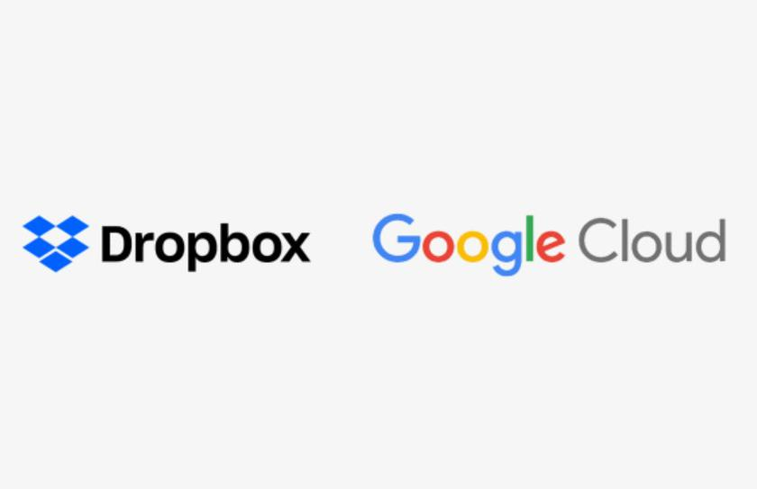 Dropbox announced integration with Google services