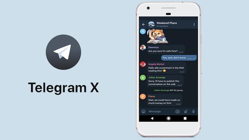 Telegram X восстановили в AppStore