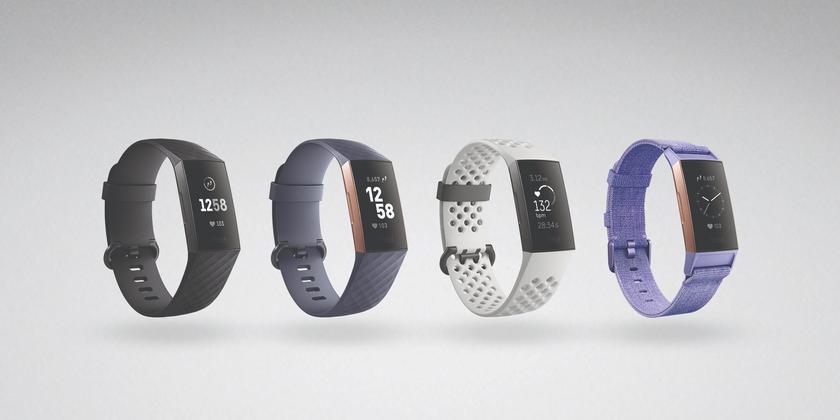 Fitbit представила Charge 3 — фитнес-трекер с сенсорным дисплеем и увеличенной автономностью
