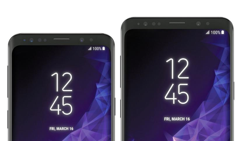 Battery capacity Samsung Galaxy S9 is the same as the Galaxy S8