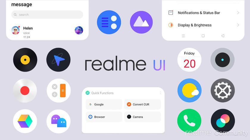 Realme запустила тестирование Android 11 с Realme UI 2.0 для шести смартфонов