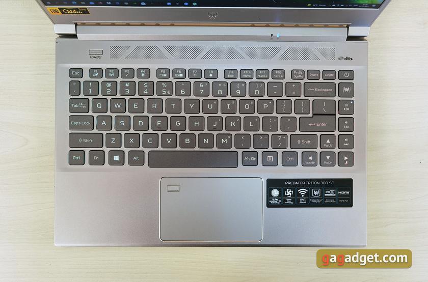 Обзор Acer Predator Triton 300 SE: игровой хищник размером с ультрабук-18