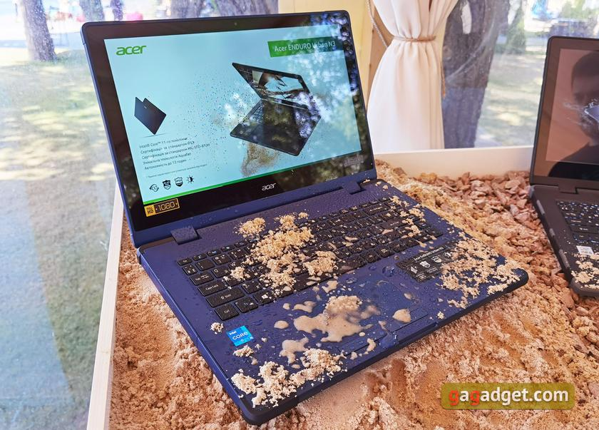 Новые ноутбуки Acer Swift, ConceptD, Predator и защищённые ENDURO в Украине