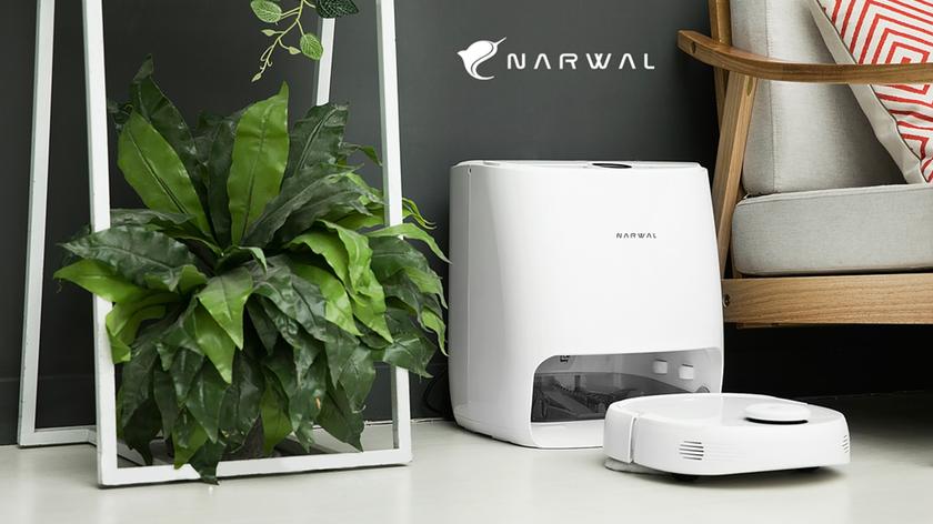 Narwal T10 — первый моющий робот-пылесос с функцией самоочистки