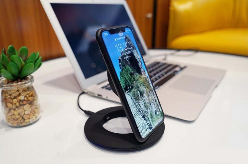 Xiaomi Boway Z1: 10-ваттная беспроводная зарядка-подставка