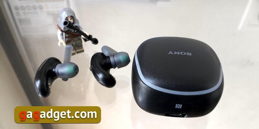 Обзор Sony WF-SP700N: моллюски для ушных раковин