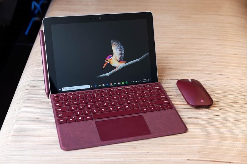 Анонс Microsoft Surface Go: бюджетный планшет на Intel Pentium с защитой Windows Hello
