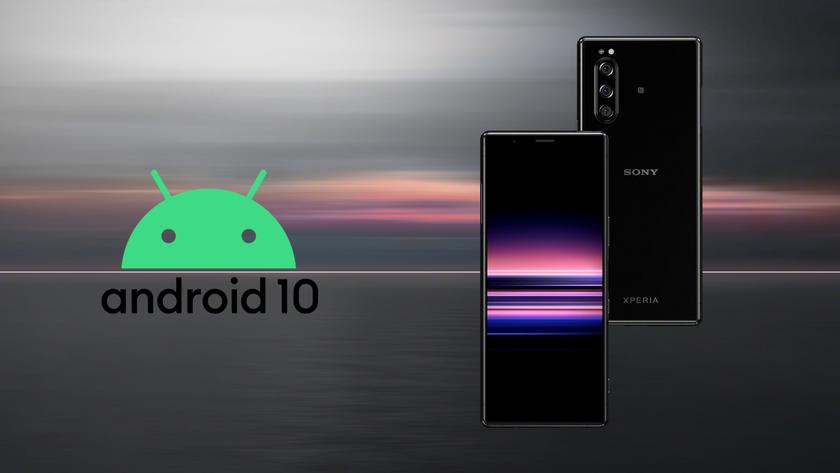 Sony обновила до Android 10 сразу четыре модели смартфонов