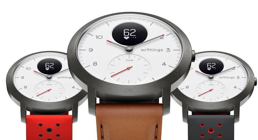 Withings возвращается  с гибридными часами Steel HR Sport