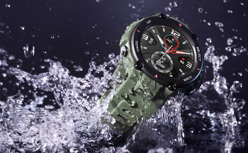 Представлены Amazfit T-Rex— «умные часы» сзащитой повоенному стандарту за$140