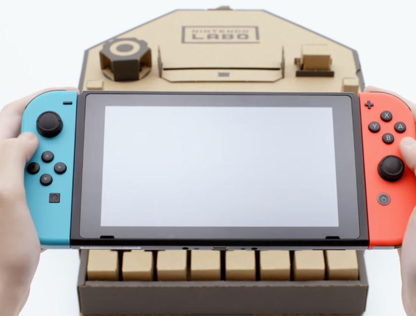 Nintendo Labo - cool cardboard designer for the Switch console