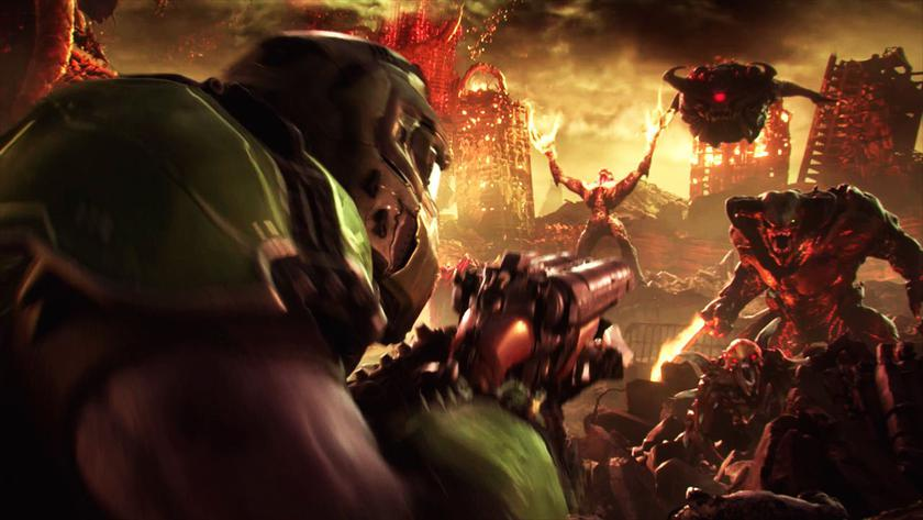 Bethesda показала 10минут кровавого ибрутального геймплея Doom Eternal