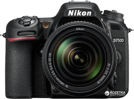 Nikon D7500 AF-S DX Nikkor 18-105mm f/3.5-5.6G ED VR Kit