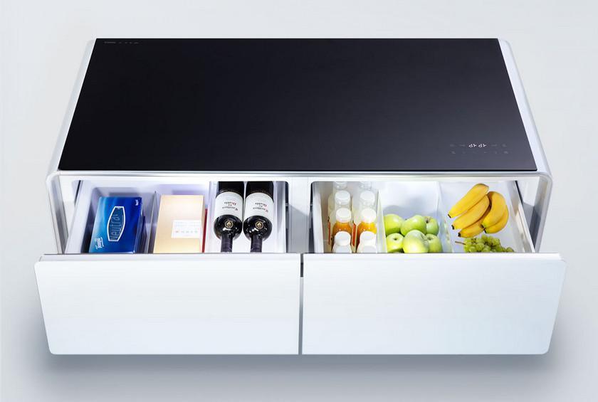 Xiaomi представила «умный» журнальный столик Viomi с холодильником
