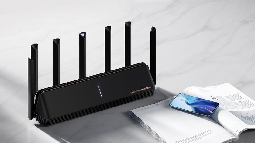 Xiaomi Mi Router AX6000: роутер с поддержкой Wi-Fi 6E за $92