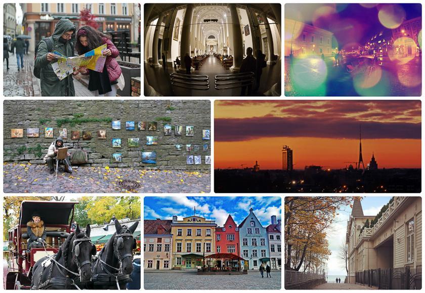 Прибалтийское трио: 25 приемов съемки в путешествии