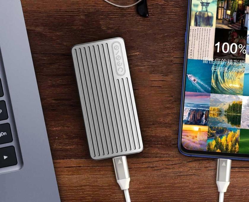 Xiaomi JESIS P1: внешний SSD-накопитель с поддержкой USB 3.1 и весом 49 г