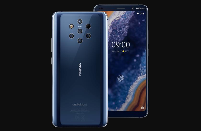 Флагман Nokia 9 PureView начал получать обновление Android 10