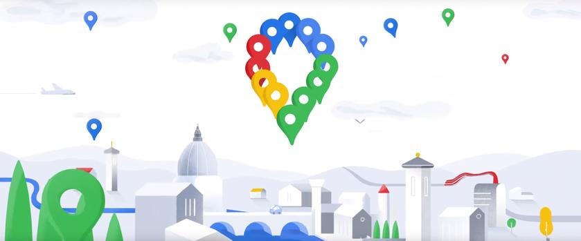 Google выпустила юбилейную версию приложения Google Maps для iOS и Android