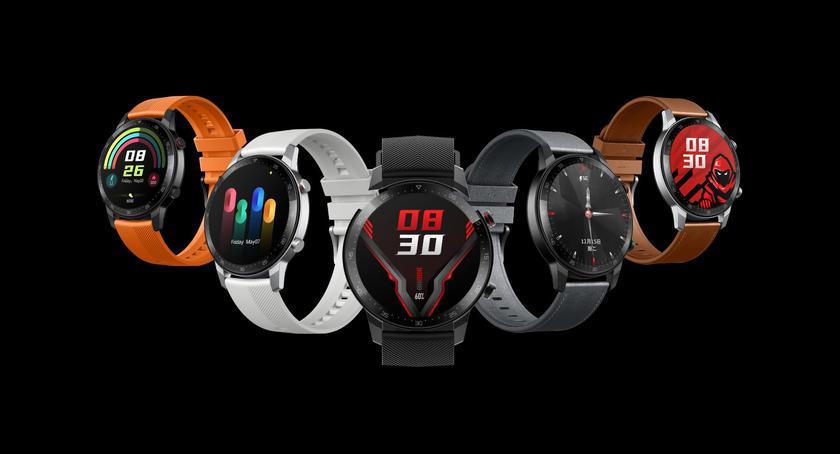 Смарт-часы Nubia Red Magic Watch с AMOLED-экраном, GPS и автономностью до 15 дней вышли на глобальном рынке