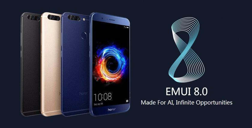 Huawei начала обновлять до Android Oreo еще 7 моделей смартфонов
