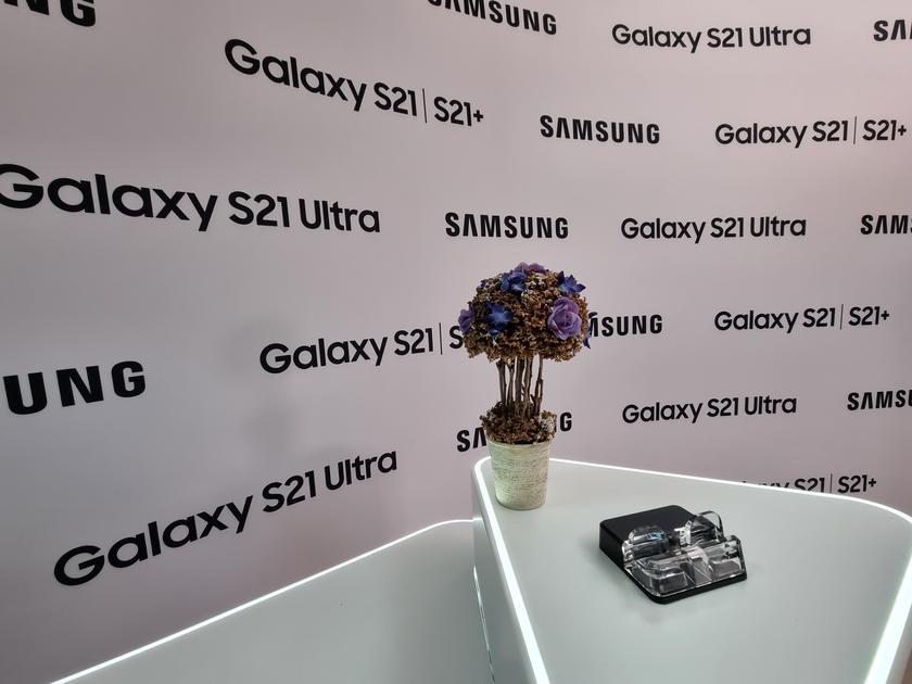 Флагманская линейка Samsung Galaxy S21 и наушники Galaxy Buds Pro своими глазами-51