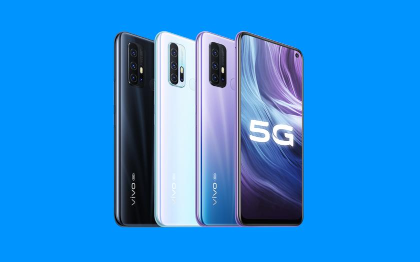 vivo Z6 5G появился на качественных рендерах с дизайном камеры, как у Huawei P40