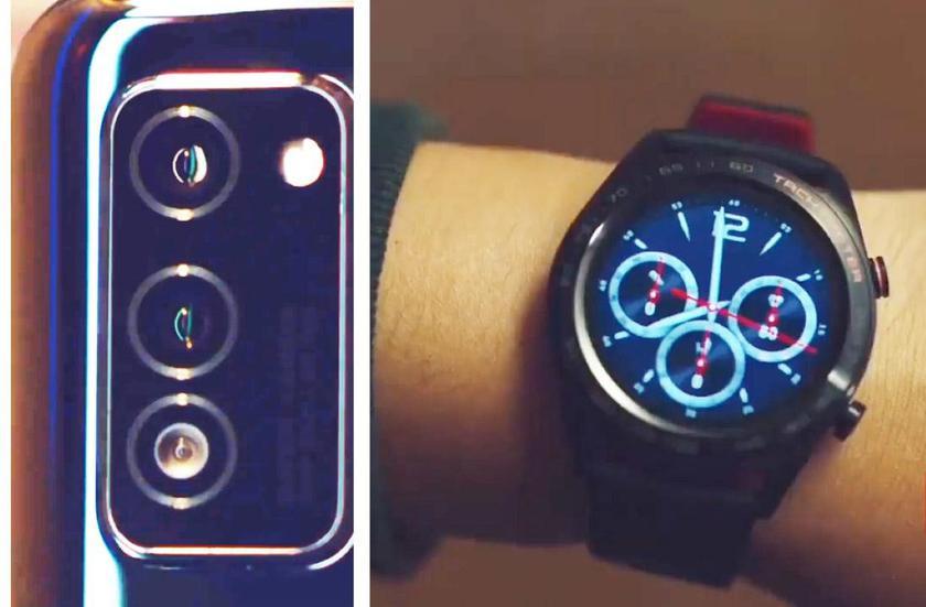 Флагман Honor V30 и смарт-часы Honor Watch Magic 2 появились в новом рекламном ролике компании