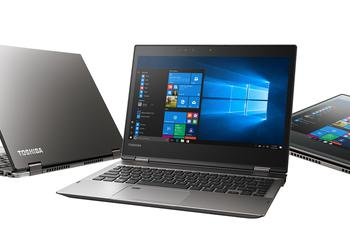 Updated notebooks Toshiba Portege X20W and X30: classic design and Intel Core processor of the eighth generation