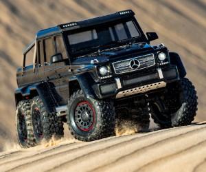 1:10 Traxxas TRX-6 Scale- und Trail-Crawler mit Mercedes-Benz G 63 AMG 6x6 Karosserie Test