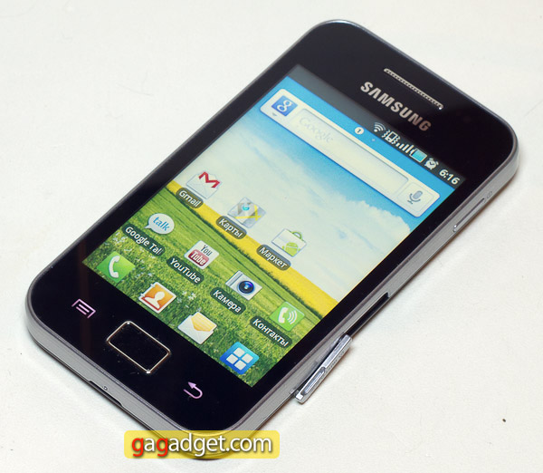 Туз в рукаве: обзор Android-смартфона Samsung Galaxy Ace (GT-S5830)
