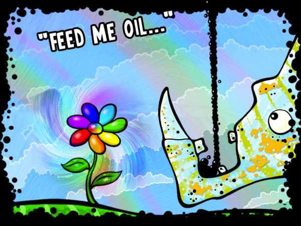 Игры для iPad: Feed Me Oil-2