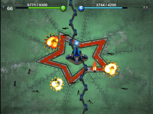 Игры для iPad: Tesla Wars HD-3