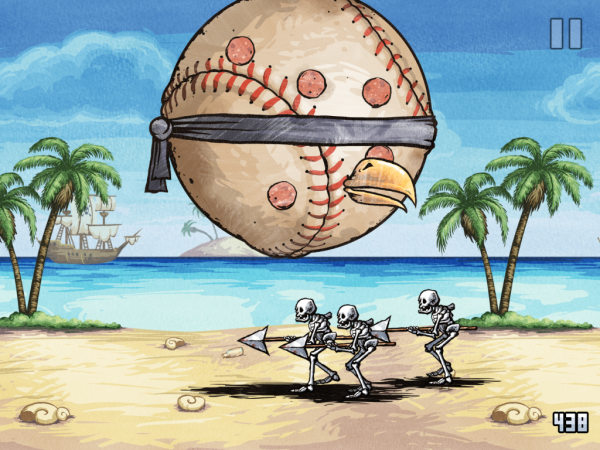 Игры для iPad: Pizza Vs. Skeletons -5