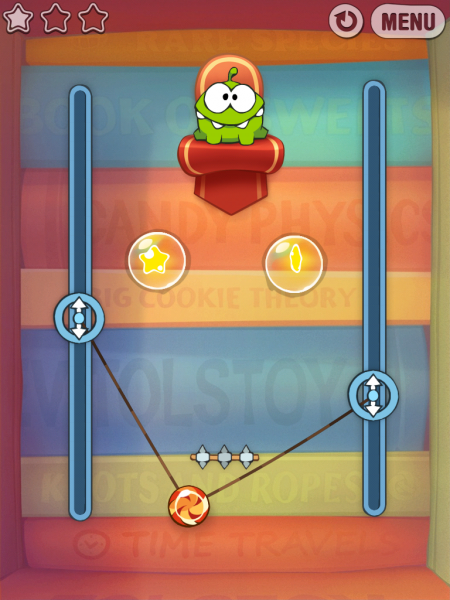 Игры для iPad. Cut the Rope: Experiments HD -4