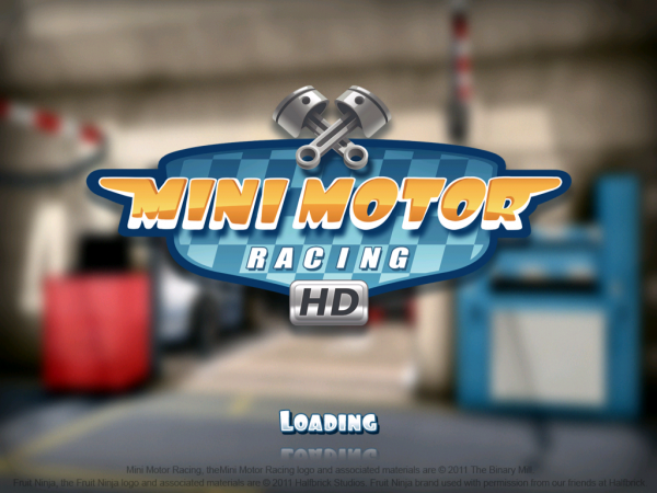 Игры для iPad: Mini Motor Racing HD