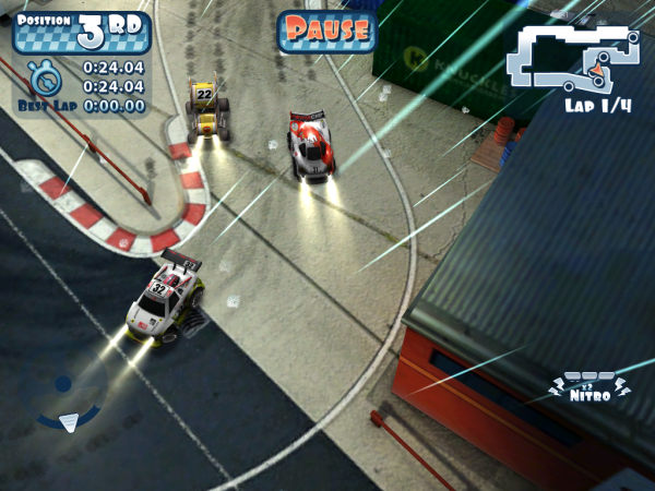 Игры для iPad: Mini Motor Racing HD -5