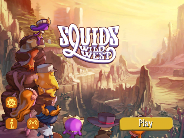 Игры для iPad: Squids Wild West