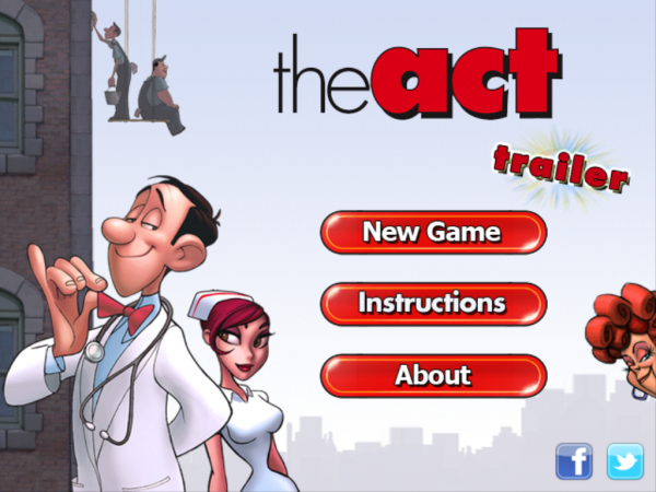 Игры для iPad: The Act