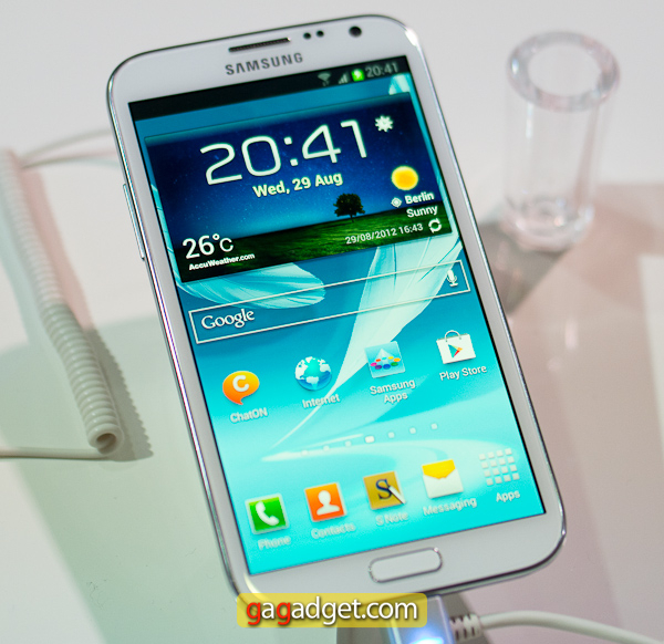Samsung Galaxy Note II (GT-N7100) своими глазами -5
