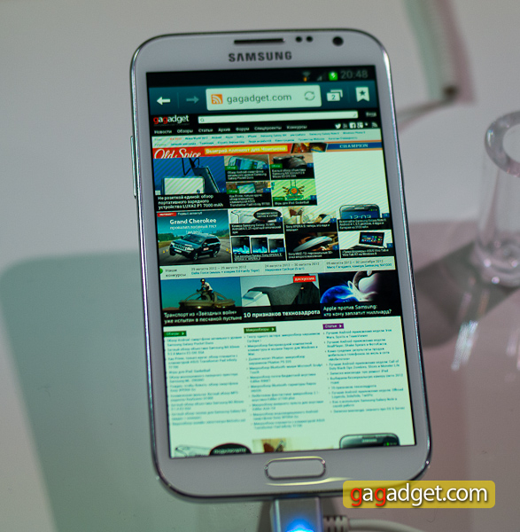 Samsung Galaxy Note II (GT-N7100) своими глазами