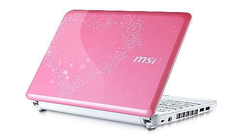 Подарок ко дню святого Валентина: MSI Wind U100 Love Edition