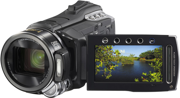 JVC Everio GZ-HM400: компактная FullHD-камера с 10-кратным зумом