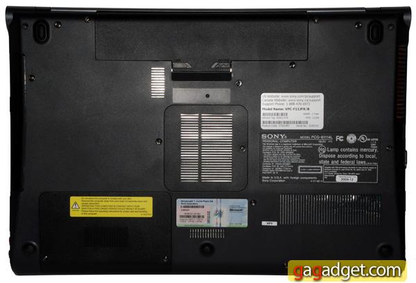 Домашний кинотеатр в сумке: подробный обзор ноутбука Sony VAIO F-16