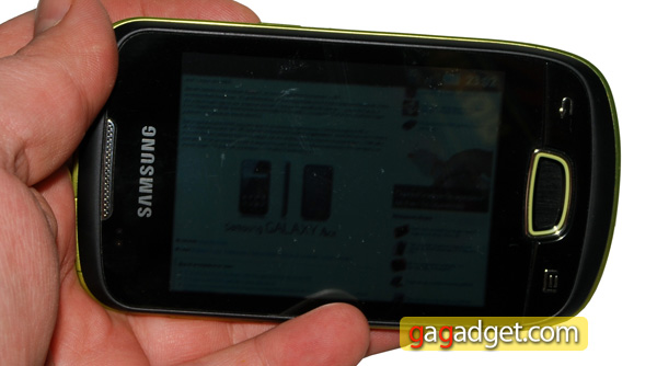 Маленькая Галактика: обзор Android-смартфона Samsung GT-S5570 Galaxy Mini-20