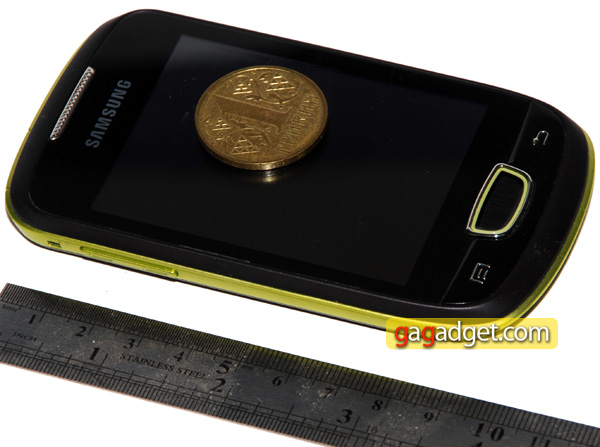 Маленькая Галактика: обзор Android-смартфона Samsung GT-S5570 Galaxy Mini