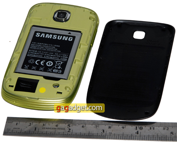 Маленькая Галактика: обзор Android-смартфона Samsung GT-S5570 Galaxy Mini-9